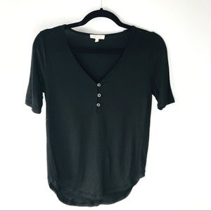 Madewell Comfy Black T Shirt Size Extra Small